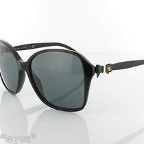 Coco Chanel Sunglasses Authentic 5205 Ch5205 Black Gold Cc Bow Collection Photo