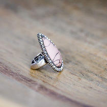 Cocoa Jewelry Charlotte Blush Stone Ring Photo