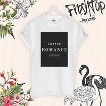 Coffee Romance T Shirt Blogger Fashion Sexy Tumbrl Vogue Celine Homies Feline  Photo