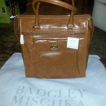 Cognac Badgley Mischka Tote Photo