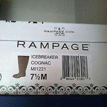 Cognac Boots Rampage Size 7.5 Photo