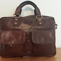 Cognac Brown Leather Fossil