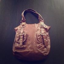 Cognac via Spiga Leather Handbag Photo