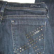 Coh Citizens of Humanity Grommet Electric Guitar Jeans Sz 25    146 Photo