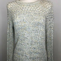 Coincidence & Chance Marled Knit Pullover Sweater Fall Size Medium Photo
