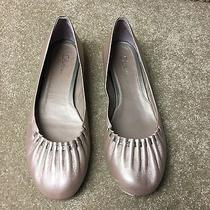Cole Haan Air Josey Pearlized Blush Leather Ballet Flats Women's Shoes Size 8 B Photo