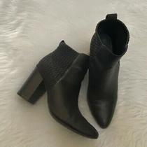 Cole Haan Black grand.os Booties 7b-Good Condition Photo
