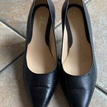Cole Haan Black Leather Classic Heel Pumps Pointed Toe Pumps Women's Sz 6 Photo