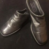 Cole Haan Black Leather Mule Shoes Womens Size 10 Photo
