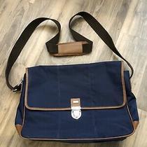 Cole Haan Blue Messenger Bag Photo