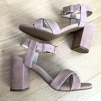 Cole Haan Brand New Womens Suede Kadi Heel Sandal - Blush Pink (Size 7b) Photo