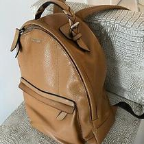 Cole Haan Brown Leather Backpack Mcm Coach Fossil Photo