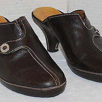 Cole Haan Brown Leather Mules 3