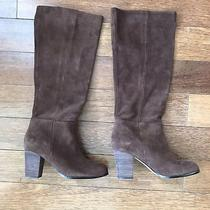 Cole Haan Cassidy Tall Boot Brown Suede 6.5 Photo