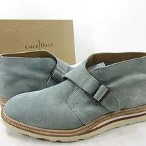 Cole Haan Christy Wedge Chukka Grey Men's 8.5 D Ankle Boots Nwd in Box Photo
