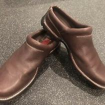 Cole Haan Country Womens Sz 8 B Brown Leather Mules Slide on Shoes Style D13392 Photo