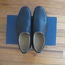 Cole Haan Elton Bike Toe Loafer Leather Mens Shoes Black 8m Msrp 168 Photo