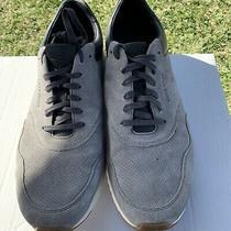 Cole Haan Grandpro Tennis Sneaker Grey Suede Perf  Men Size 13 Photo