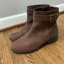 Cole Haan - Hastings Waterproof Side Zip Short Bootie in Brown - Size 8 Photo