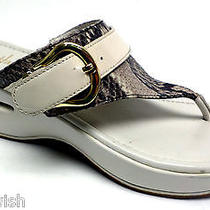 Cole Haan Ivory Thong Sandals Size 9 Shoes Nike Air Photo