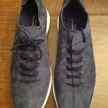 Cole Haan Men's Grandmotion Lthr Navy(blue) Nubuck Fashion Sneakers 11.5m Nib Photo