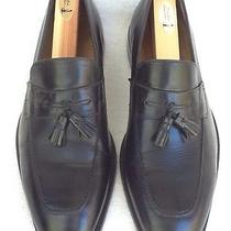 Cole Haan Men's Loafers Us 9.5 M Black Tassels Dress Formal Photo