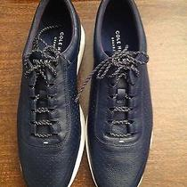 Cole Haan Men's Og Sport Perforated Ii Blue Leather Fashion Sneakers 11.5m  Nib Photo