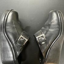 Cole Haan Mule Wedge Clogs Memory Comfort Flex 10.5 B Black Photo