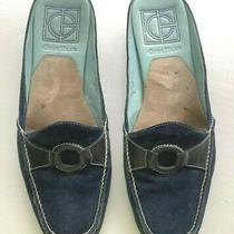 Cole Haan Nikeair Navy Mules Shoes 6 B Suede Leather Slip on Shoes Price Reduced Photo