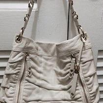 Cole Haan Off White Leather Shoulder Bag Photo
