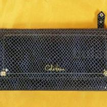 Cole Haan Pacific Print Box Marabelle Print Leather Slim Wallet Nwt Photo