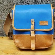 Cole Haan Reflective Blue Messenger Bag Photo
