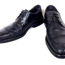 Cole Haan Shoes Mens 9.5 M Leather Black Lace Up Split Toe Oxfords Dress Photo