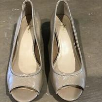 Cole Haan Tan Patent Leather Wedges-- Shoes -Size 38 Photo