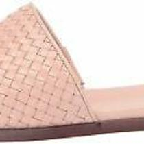 Cole Haan Women's Analise Weave Slide Sandal Blush Woven Leather Size 5.5 Photo
