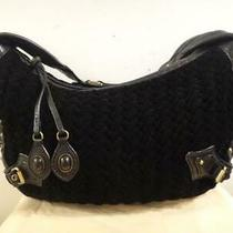 Cole Haan Women's Black Large Hobo Purse Handbag Bag Photo