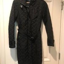 Cole Haan Women's Black Quilted Jacket - Xs Photo