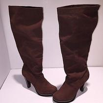Cole Haan Women's Brown Leather Boot 10b Msrp 428 B190f Photo