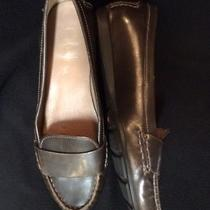Cole Haan Women's Casual Brown Slip-on Leather Loafers Flats Size 7.5b Photo