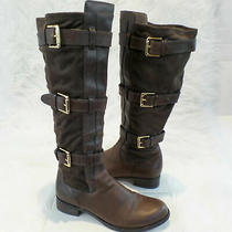 Cole Haan Womens Brown Avalon Tall Boots Sz 8.5 B Photo