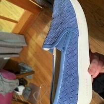 Cole Haan Womens Grandpro Woven Casual Sneakers  Bluesize 8 Photo