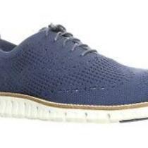 Cole Haan Zerogrand Stitchlite Ox Dress Shoes New Men's Size 10.5 Marine Blue Photo
