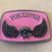 Collectable Vonzipper Belt Buckle  Photo
