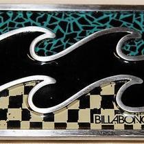 Collectible Billabong Metal Belt Buckle - Excellent Photo