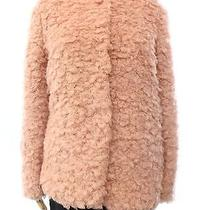 Collection B New Pink Blush Size Medium M Junior Faux Fur Angel Jacket 68 Deal Photo