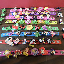 Collection of Disney and Other Assorted Shoe Charms for Croc Shoes  (609) Photo