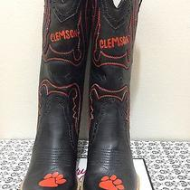 College Gameday Cowboy Cowgirl Boots - Clemson University (Others Available) Photo