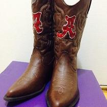College Gameday Cowboy Cowgirl Boots - University of Alabama (Others Available) Photo