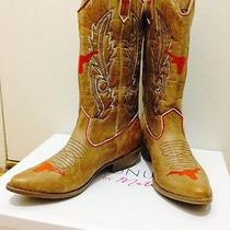 College Gameday Cowboy Cowgirl Boots - University of Texas (Others Available) Photo