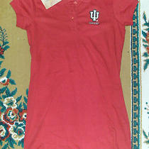 College-Ladies Polo/ Dress  Indiana  Size Small Photo